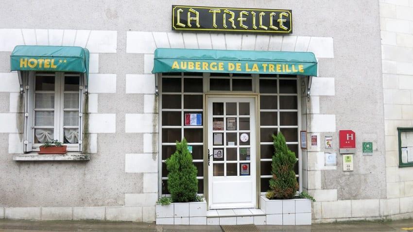 The former Cafe de l'Union in Saint-Martin-le-Beau