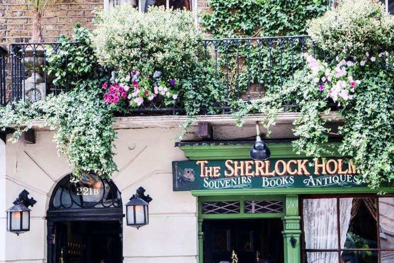 Sherlock Homes Museum in London