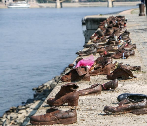 the shoes on the danube is a must-stop on a walking tour of budapest