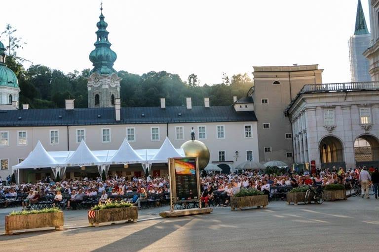 Salzburg Festival in Kapitelplatz