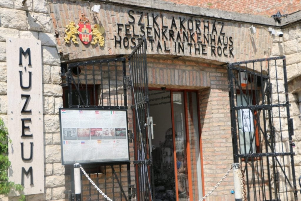 Hospital in the Rock is an important WWII site in Budapest