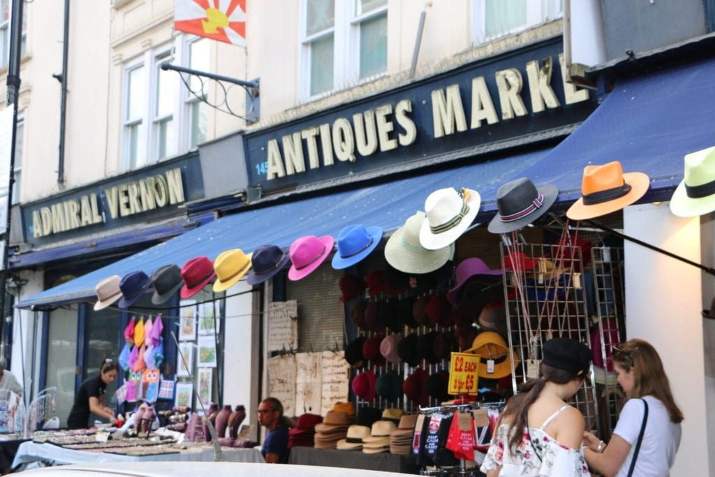 Portobello Market, Notting Hill, London
