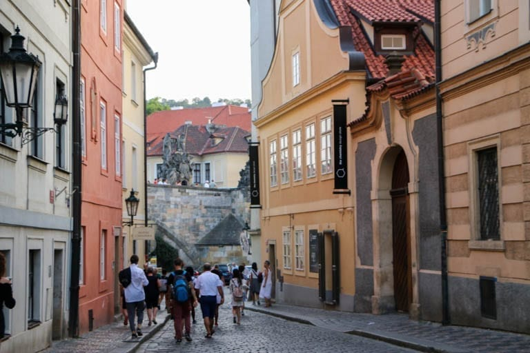 The Little Quarter is a beautiful place to walk in Prague!