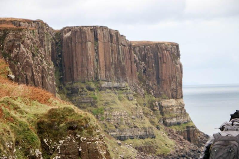 Kilt Rock in the Scottish Highlands