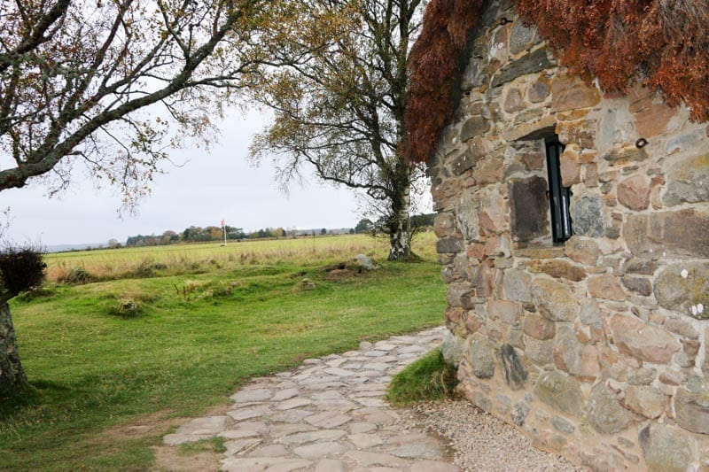 Culloden Battlefied in the Scottish Highlands