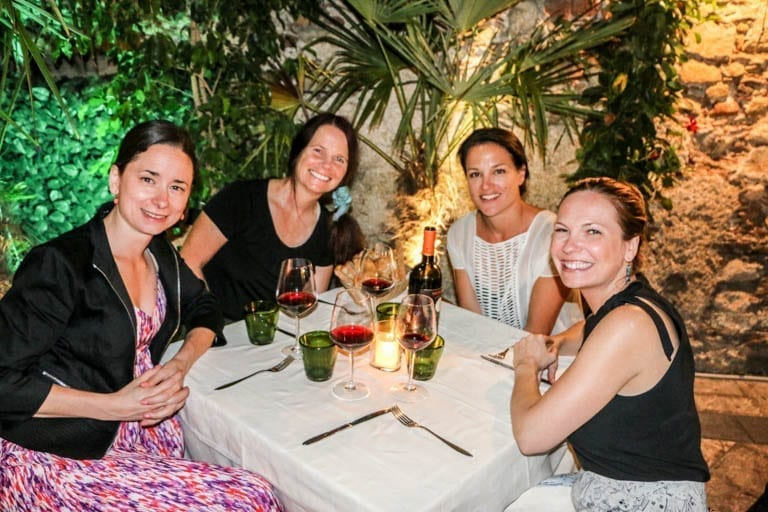 A night out on the town in Taormina