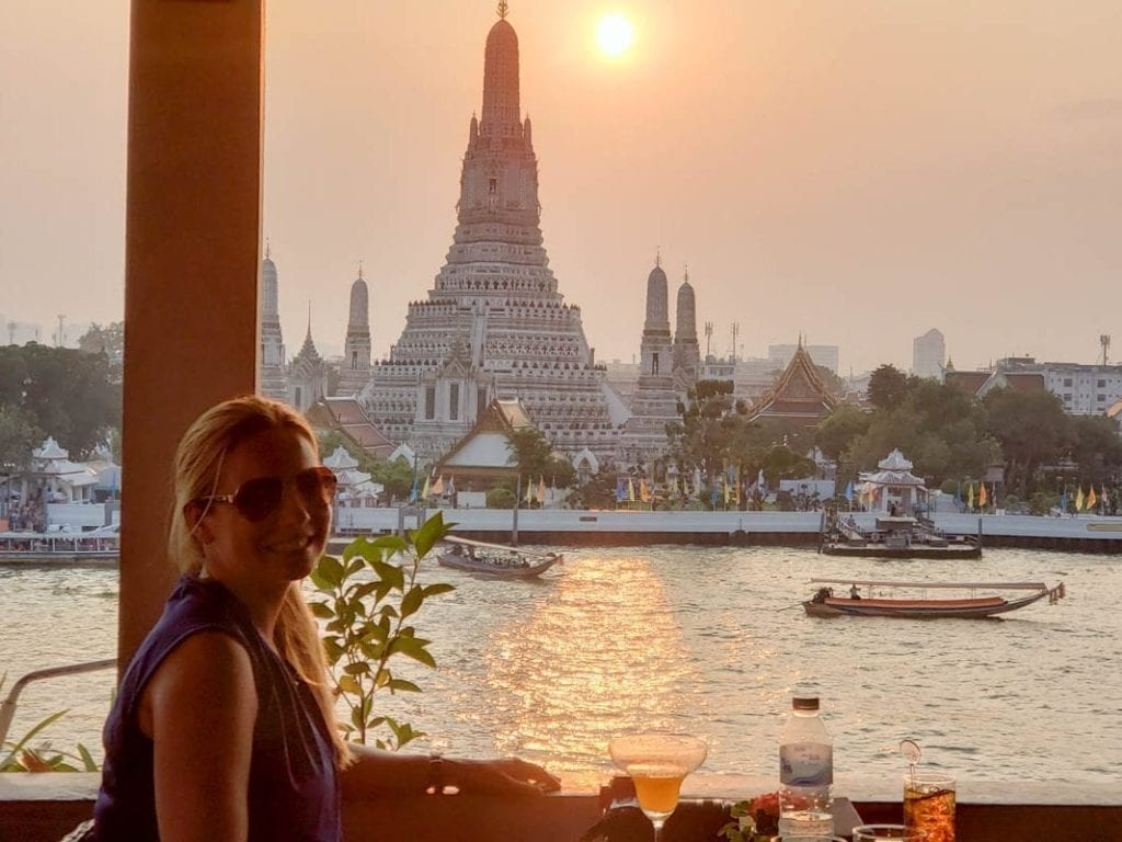 Wat Arun - the Temple of Dawn - at Sunset