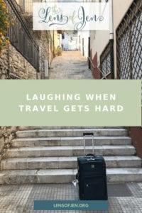 Stairs in Taormina, Sicily