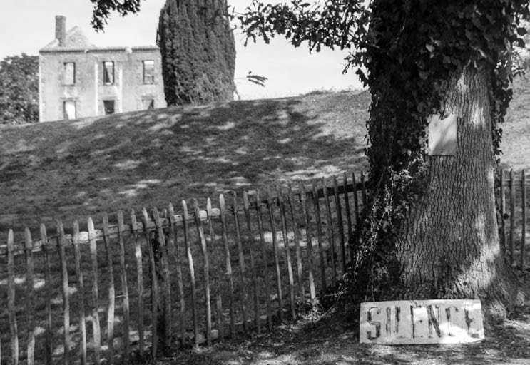 It's important to be silent in order to understand what happened at Oradour-sur-Glane.