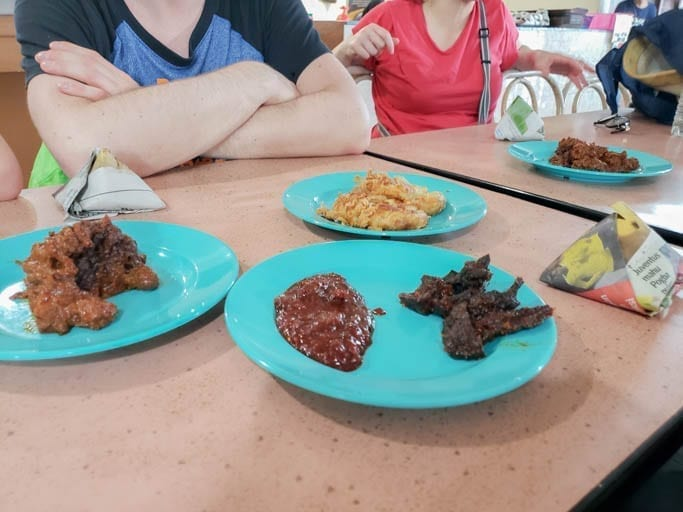 Cow Lung is a staple Kuala Lumpur street food. It looks and tastes like beef jerky