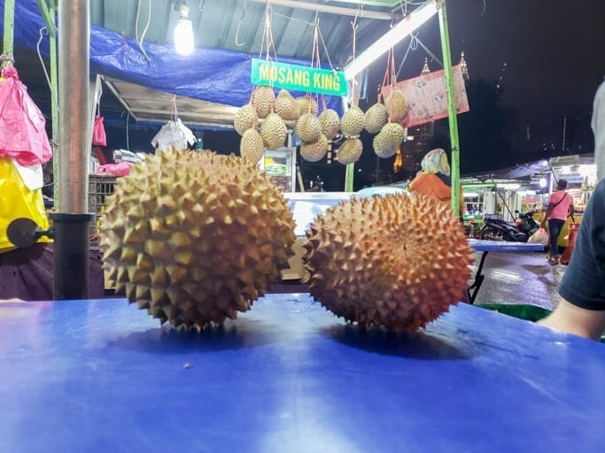 The durian fruit