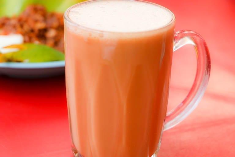 Teh tarik is a drink found at Kuala Lumpur street food stands