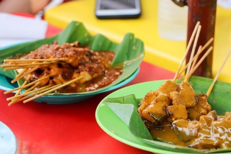 Satay: Malaysian street food