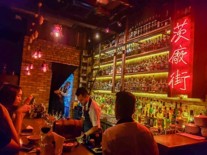 Speakeasy in Chinatown KL