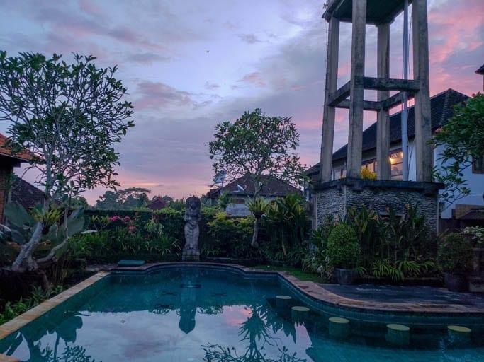 Ubud, a jungle town in Bali