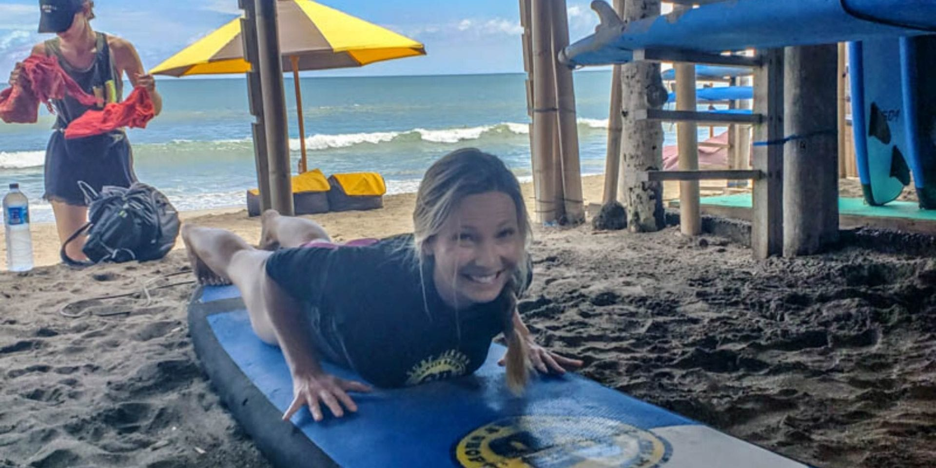 Learning to Surf in Canggu