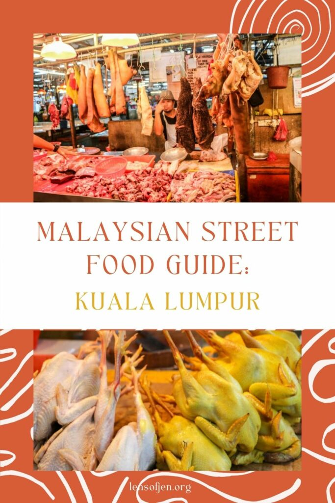 Pin for Pinterest of Malaysia street food tour