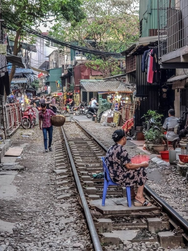 Life on the Hanoi Train Tracks
