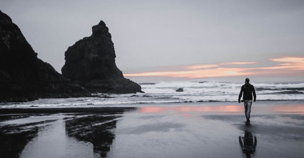 Sunset in Cannon Beach, Oregon. A place where it is easy to seek more from life.