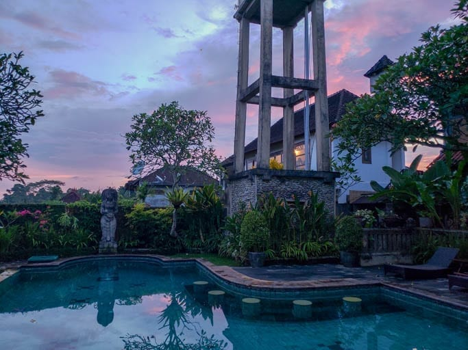 The Ubud Bungalows off Monkey Forest Road