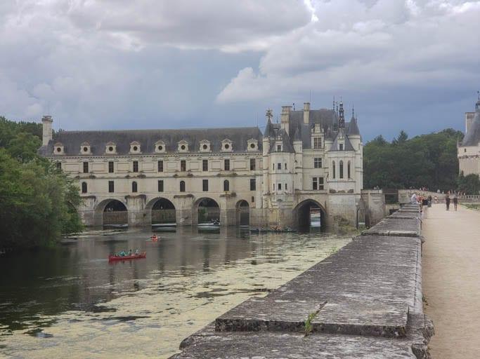 Chateau Chenonceau near Saint-Martin-le-Beau in the Loire Valley
