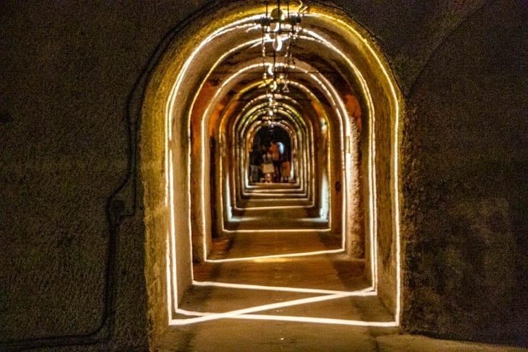 Pommery wine cellars in Reims