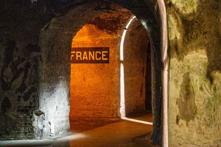 A day trip in Reims France is not complete without a stop at Madame Pommery's wine cellars!