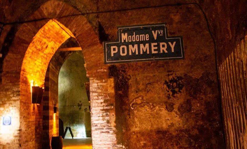La Maison Pommery, a perfect stop on a day trip to Reims