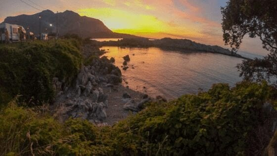camping playa arenillas islares spain