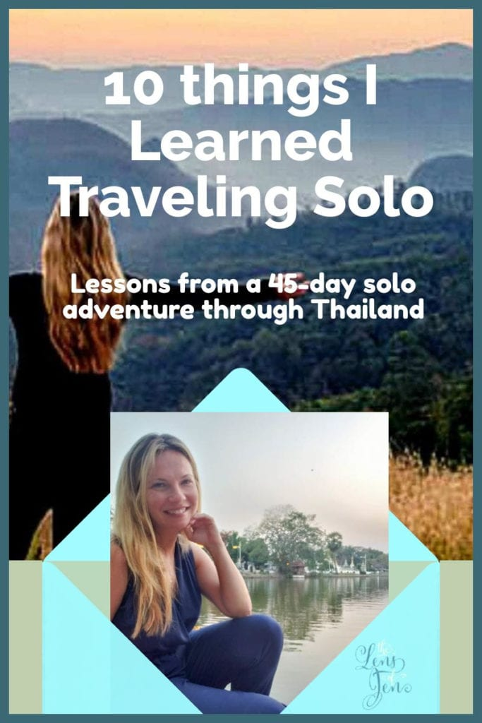 Solo Travel in Thailand pin