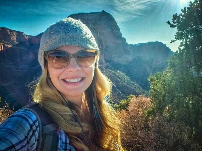 Kolob Canyons at Zion National park on the border of utah and arizona