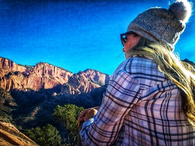 Kolob Canyons at Zion National Park is a perfect stop on a road trip in Utah and Arizona