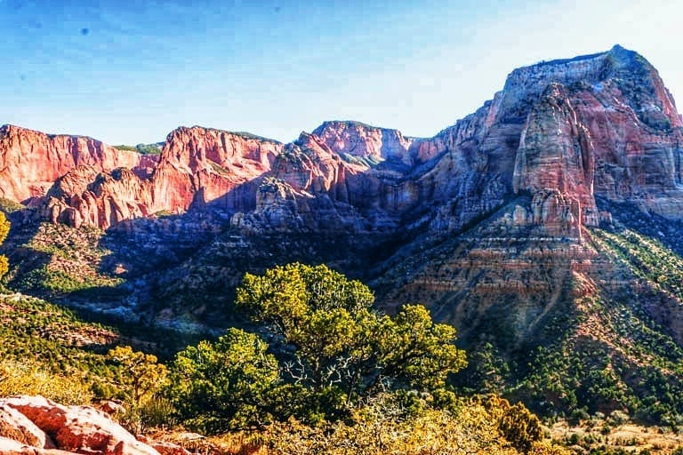 Zion National Park: A stop on a road trip along the Utah Arizona Border