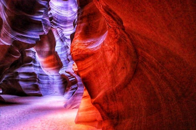 Antelope Canyon Slot Canyons