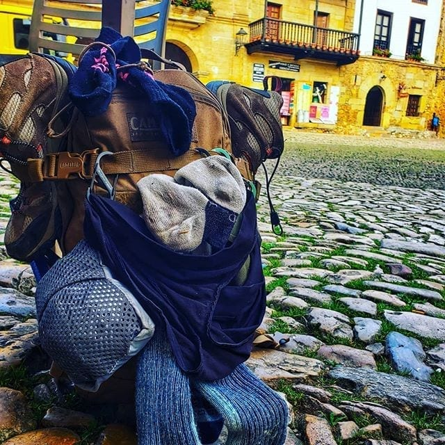 Backpack on the Camino