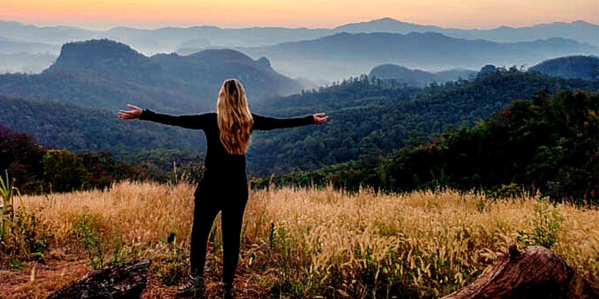Solo traveler in Thailand