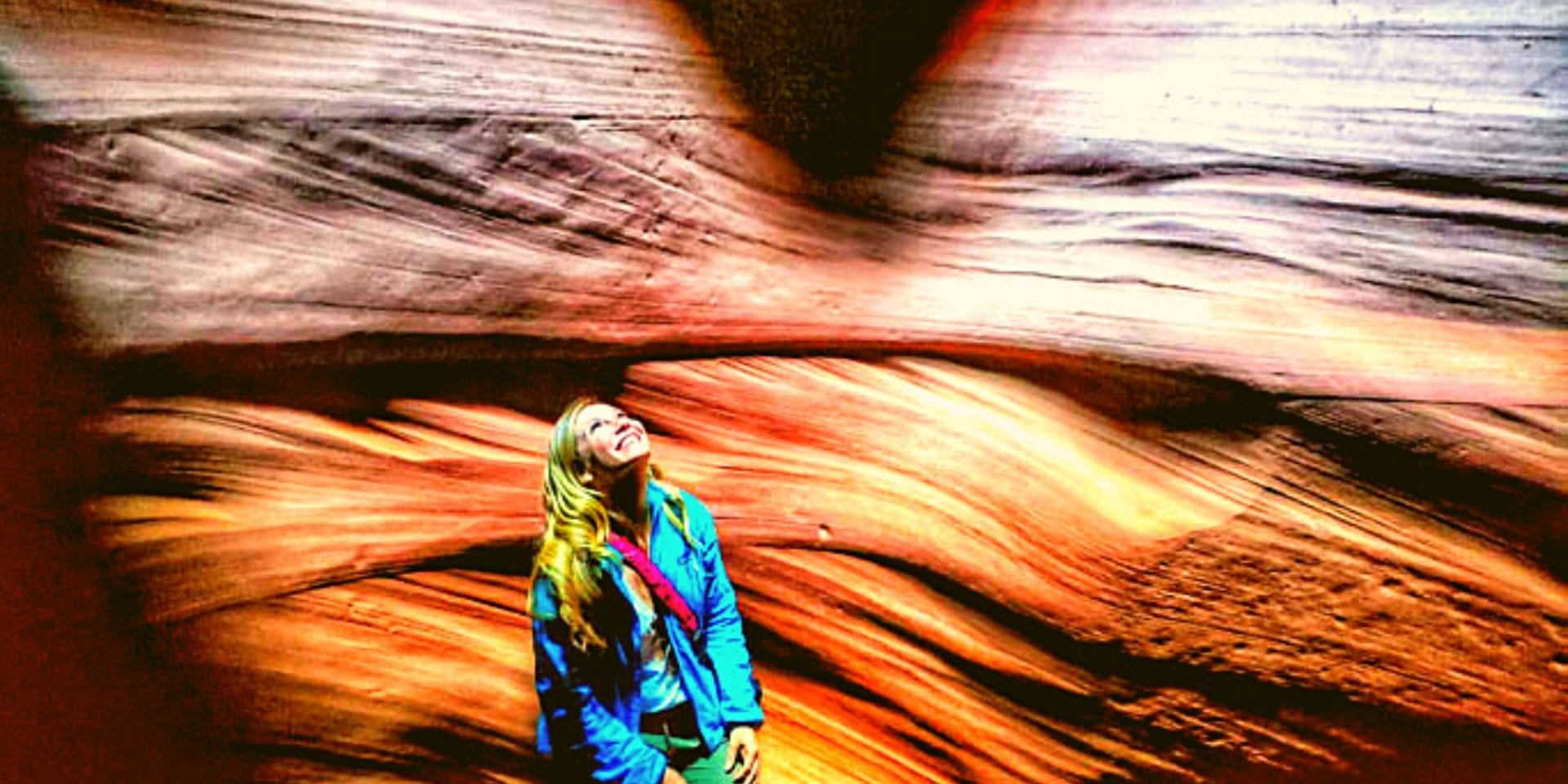 Antelope Canyon on a Road Trip from Utah to Arizona