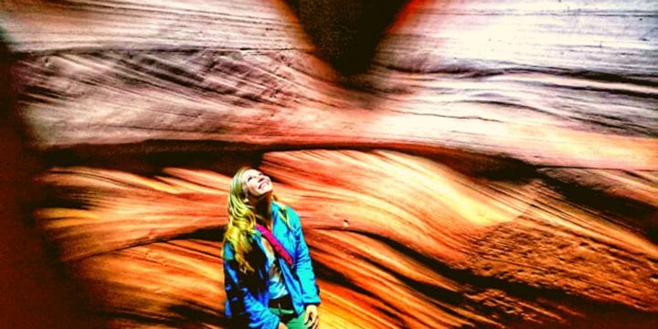 Antelope Canyon on a Road Trip from Utah to Arizona