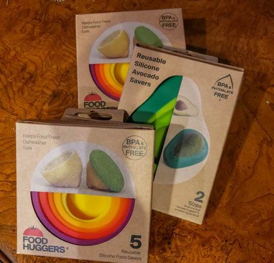 Food Huggers are a great addition to a sustainable stocking stuffer