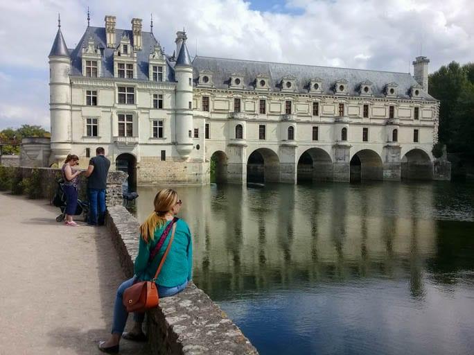 Château de Chenonceau is a bridge across the River Cher