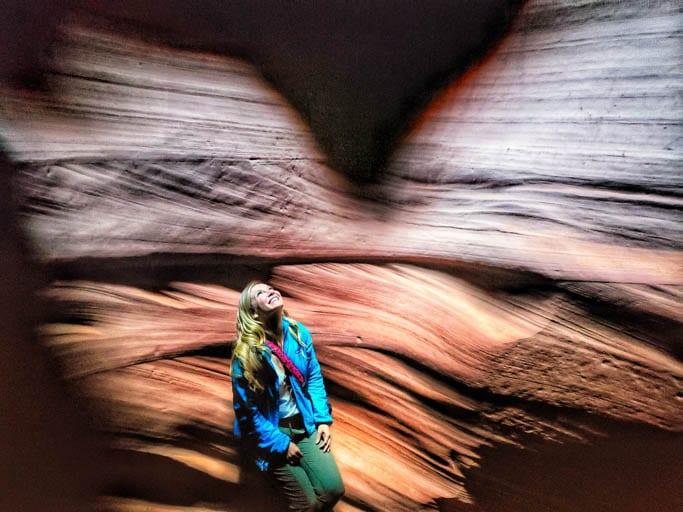 Antelope Canyon: A stop on a road trip along the Utah/Arizona border