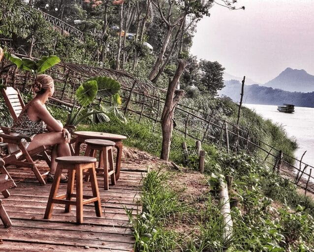 Learning to seek more while on a solo adventure on the Mekong River in Luang Prabang.