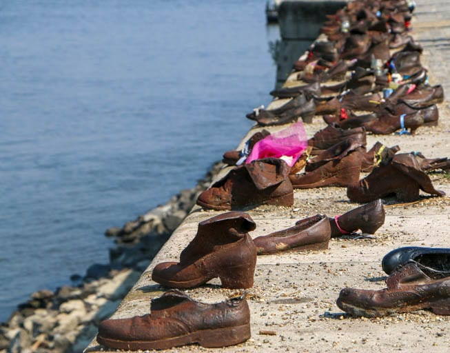 Shoes on the Danube Promenade a must-see in Budapest