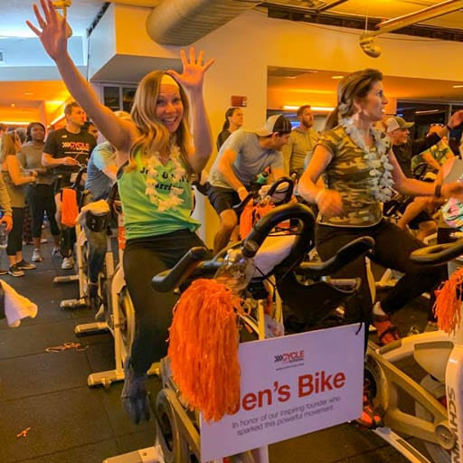 Cycle for Survival Founders Bike