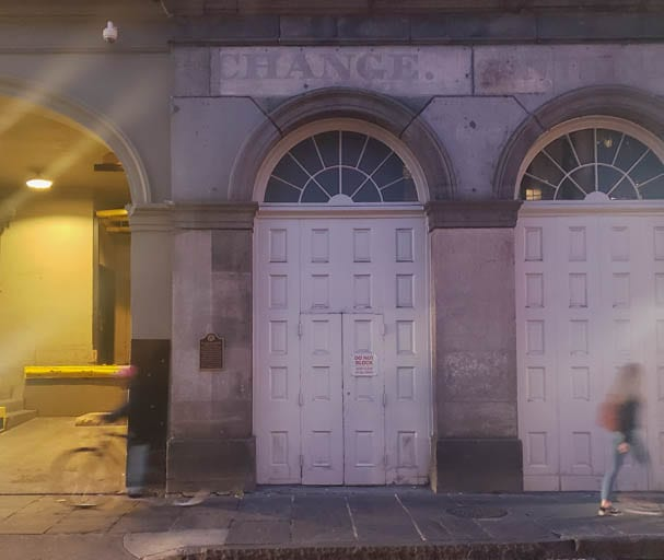 A slave exchange in the haunted history of New Orleans.