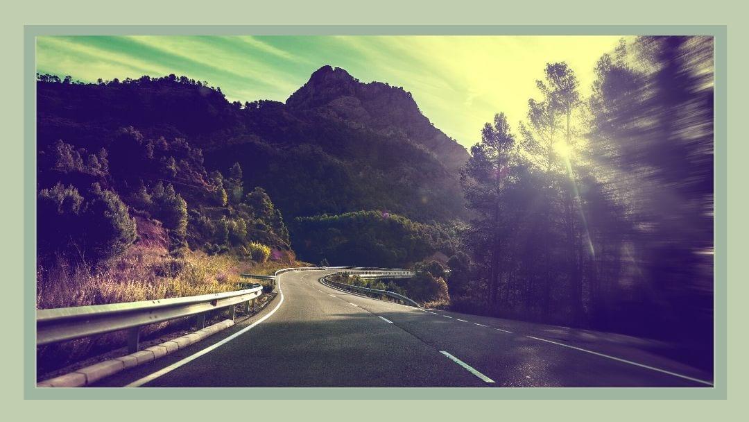 A road on the Camino del Norte
