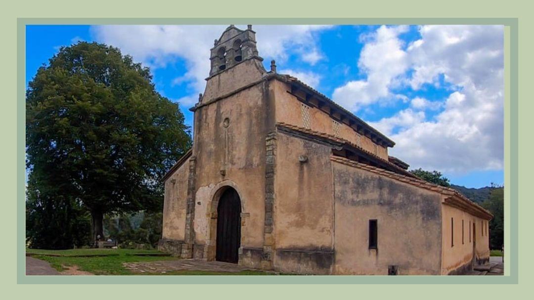 San Salvador Church on the Camino del Norte