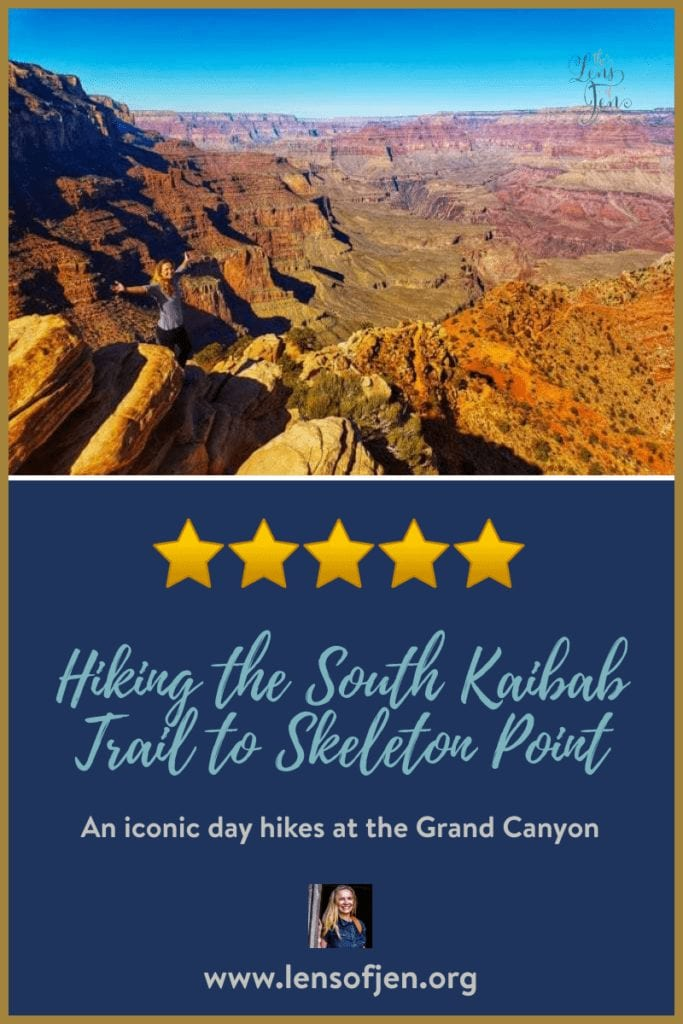Hiking the South Kaibab Trail to Skeleton Point