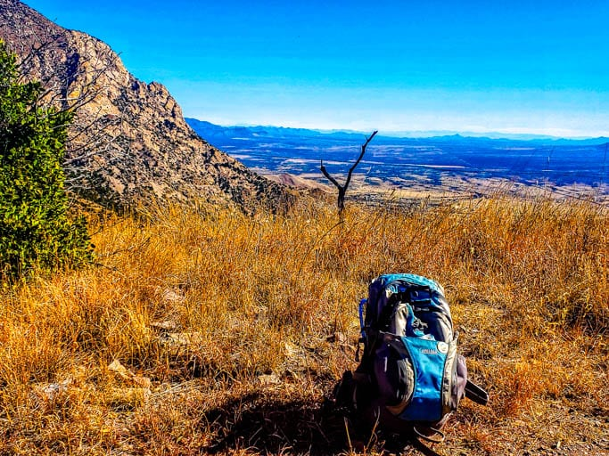 Always have a hiking survival kit in your backpack!