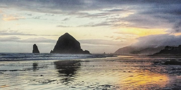 Cannon Beach at Sunrise
